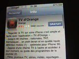 Avoir la TV sur son iPhone Chez Orange