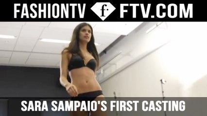 Watch Sara Sampaio's first runway casting! | FTV.com