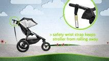 Poussette tout-terrain et de jogging Summit X3 Stroller de Baby Jogger
