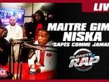 """Maitre Gims feat Niska """"Sapés comme jamais"""" dans Planète Rap"""