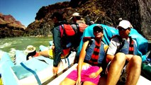 Rafting on Western River Expeditions J-Rig Raft