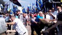 More than 100 Ukraine police injured in clashes with protesters in Kiev