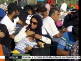 Miles de refugiados sirios buscan refugio en Serbia