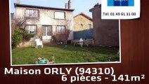 A vendre - Maison - ORLY (94310) - 6 pièces - 141m²