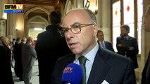 """Calais-Sangatte: """"Cela n'a rien à voir"""", affirme Cazeneuve"""