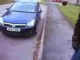 Motorcycle crash Helmet Cam - YouTube