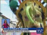 Encuentro de Parroquias Rurales de Quito se realizó en Lloa