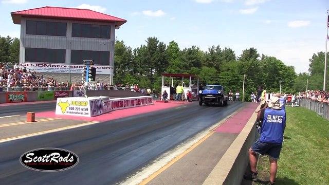 2015 Nostalgia Classic Ohio Outlaw AA Gassers Tri 5 Chevy Funny Car Nationals Nostalgia Drag Racing