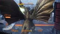 GODZILLA Ps4: King Ghidorah invasion mode walkthrough part 2