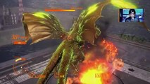 GODZILLA Ps4: King Ghidorah invasion mode walkthrough part 1