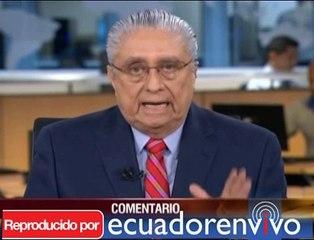 """Alfredo Pinoargote, Ecuavisa: """"Los simpatizantes y asalariados del Gobierno no nos van dar lecciones de periodismo"""""""