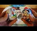 kinder surprize  Mickey Mouse Christmas Tree Decorations Surprise Baubles Balls - Sorpresa ミッキーマウス