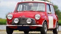 1966 Austin Mini Cooper S Mk I rally car for sale, a vendre, verkauf, te koop