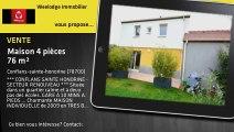 Vente - maison - Conflans-sainte-honorine (78700)  - 76m²