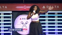 Serena Williams Belts It Out Off The Court