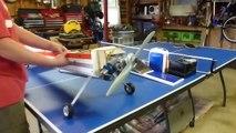 Norvel  15 BB RC Airplane Engine Test Run on Sidewinder 20