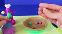play doh barney bakery with toy story rex dinosaur play doh pie play dough cake play doh food part 2