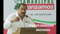 Gobernador de Tamaulipas inaugura última oficina Registral en Nuevo Laredo, 19.08.09