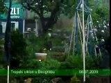 Tropski ciklon - nevreme u Beogradu - 08  jul 2009