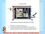 EdenPURE GEN3 Model 1000 Quartz Infrared Heater