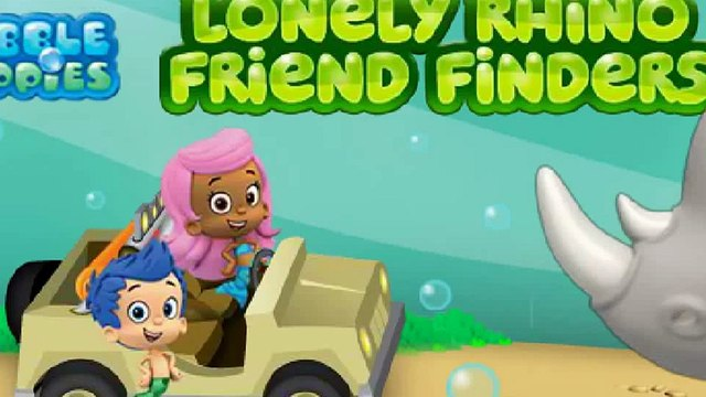 Bubble Guppies   Lonely Rhino Friend Finders   Baby Cartoon for Kids