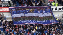Sandy Jardine:  Ibrox Minute of Silence For Rangers Legend.