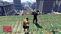 Matando inimigo no ar - GTA 5 - Snipers vs Stunters