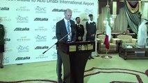 Alitalia commences codeshare services between Rome and Abu Dhabi - Etihad Airways