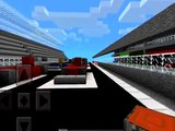 Minecraft Pocket Edition   GO KART MOD!   Mod Showcase   THE DIAMOND MINECART