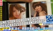 Une star du porno sur des cartes de transports