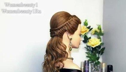 Joora Hairstyles For Short Hair : Video Easy prom hairstyles for long hair, bridal hairstyle tutorial ...