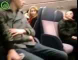 TreinMeisjesTrapper wordt de trein uitgezet