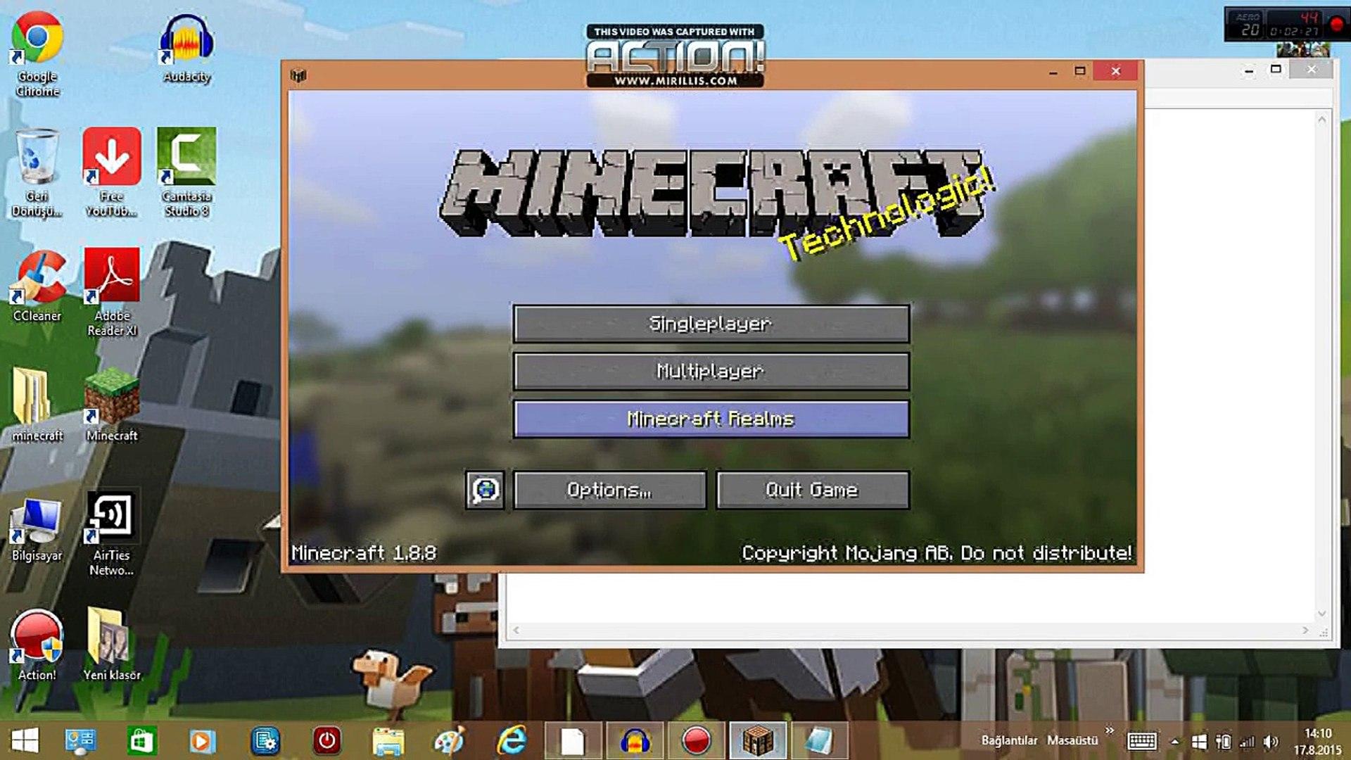 minecraft 1.7 10 server premiumsuz