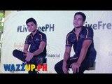 LiveFreePH Presscon with Piolo Pascual and Inigo Pascual Part 7