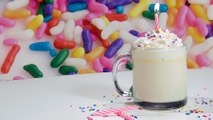 It's Your Birthday Every Day With Birthday Cake Hot Chocolate!