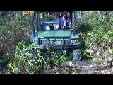 2008 John Deere Gator XUV Riding Around.