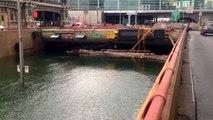 Lower Manhattan Flooding Battery Park Tunnel Submerged