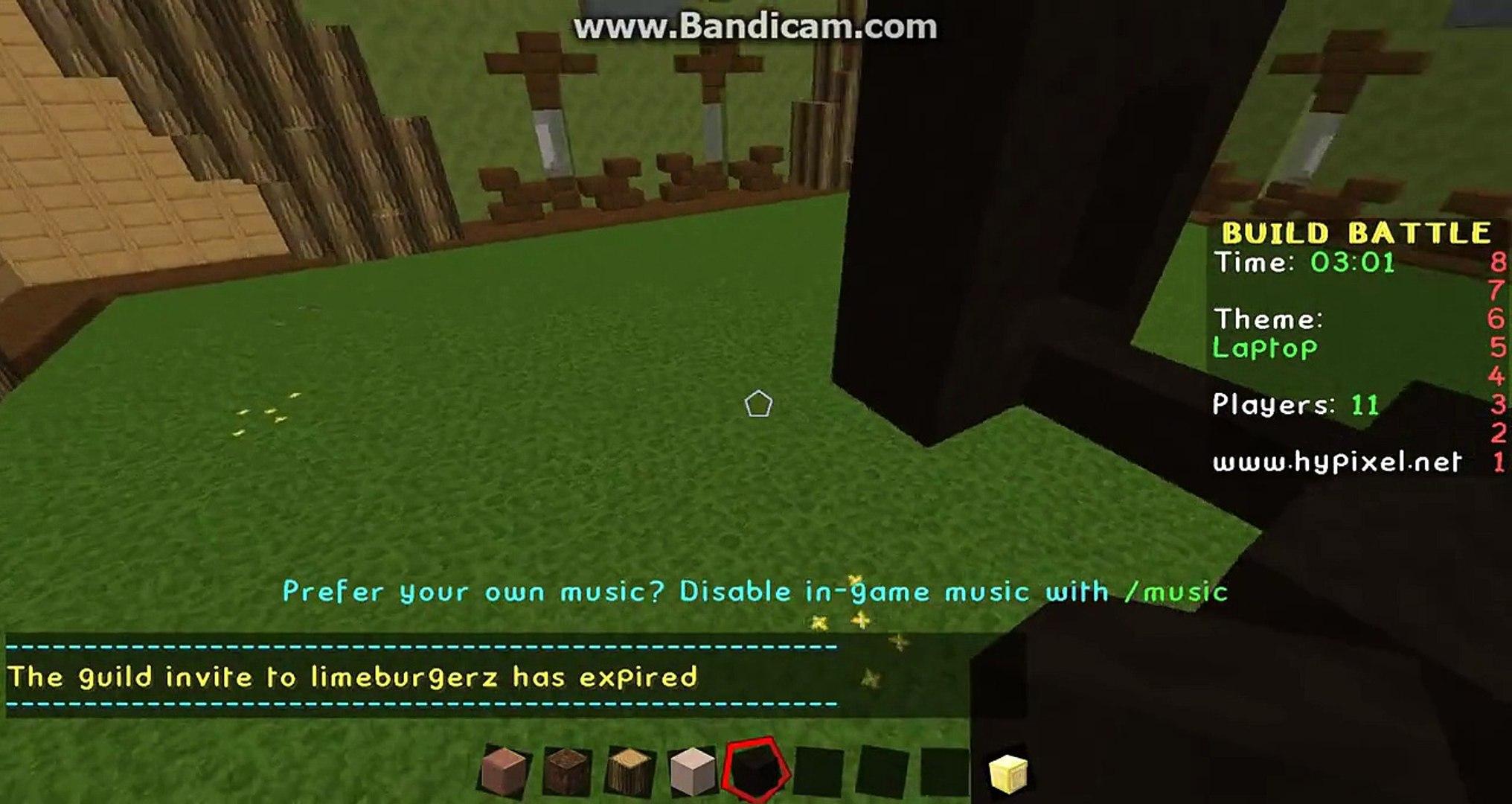 Minecraft - Build Battle - Laptop