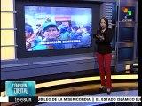 teleSUR informa sobre las movilizaciones campesinas en Colombia