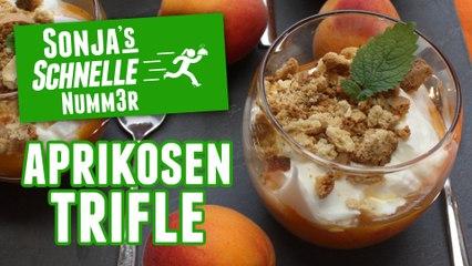 Aprikosen Trifle - Rezept (Sonja's Schnelle Nummer #79)