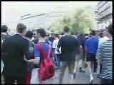 Razbijanje gej parade u Beogradu!!!
