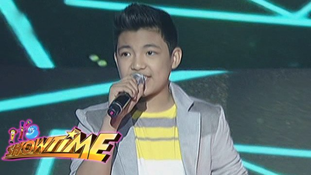 "It's Showtime: Darren Espanto performs ""Chandelier"" on Its Showtime"