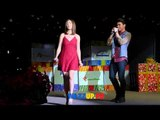 Inigo Pascual & Sofia Andres at the Araneta Center Christmas Tree Lighting 2014