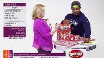 Marshawn Lynch Sells Skittles on Shopping Network