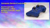 Quickscope Ps3 Playstation 3 Blue Modded Controller Rapid Fire Cod