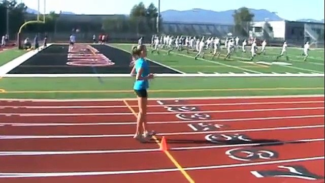 Lauren Anderson drills & jumping
