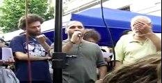 Intervento del rappresentante del CSOA ex-Snia