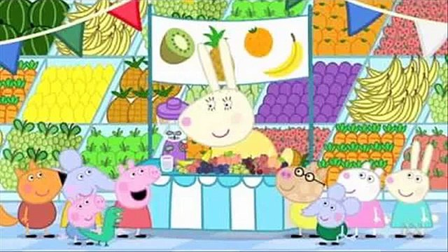 peppa pig fruit