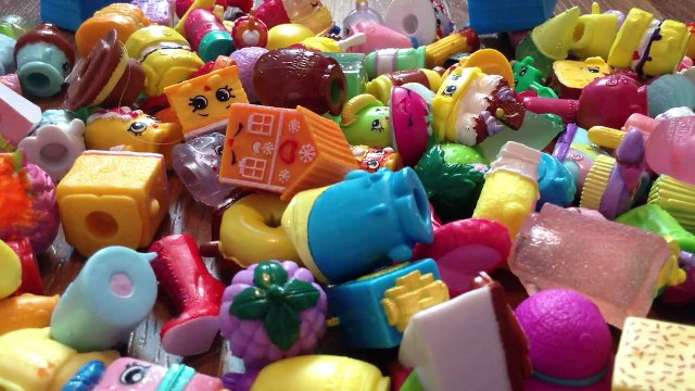 Shopping with shopkins and peppa pig