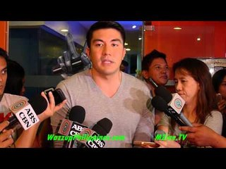 The Voice Kids Grand Presscon with Luis Manzano talks about Legal Wife and Angel Locsin